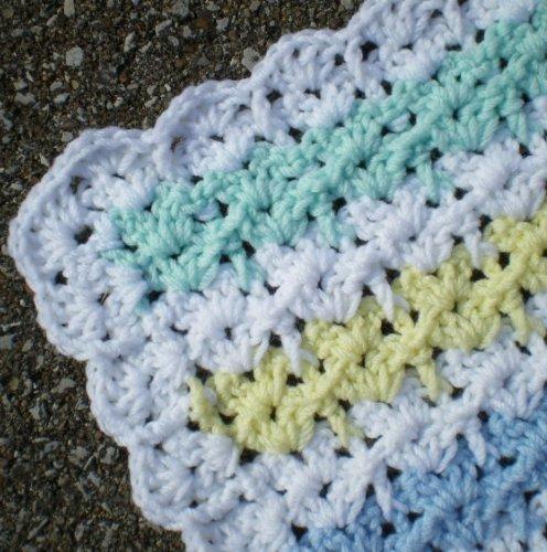 Easy Baby Afghan Crochet Pattern