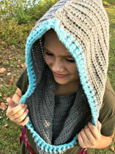 Haven Hooded Cowl Crochet Pattern