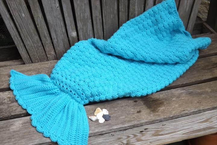 Crochet Pattern for Mermaid Tail
