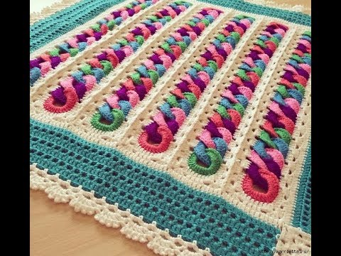 Mile a Minute Baby Ring Crochet Afghan Pattern