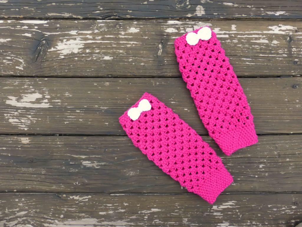 Baby Leg Warmers Crochet Pattern