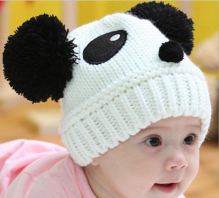 DIY Knitted Panda Hat Pattern