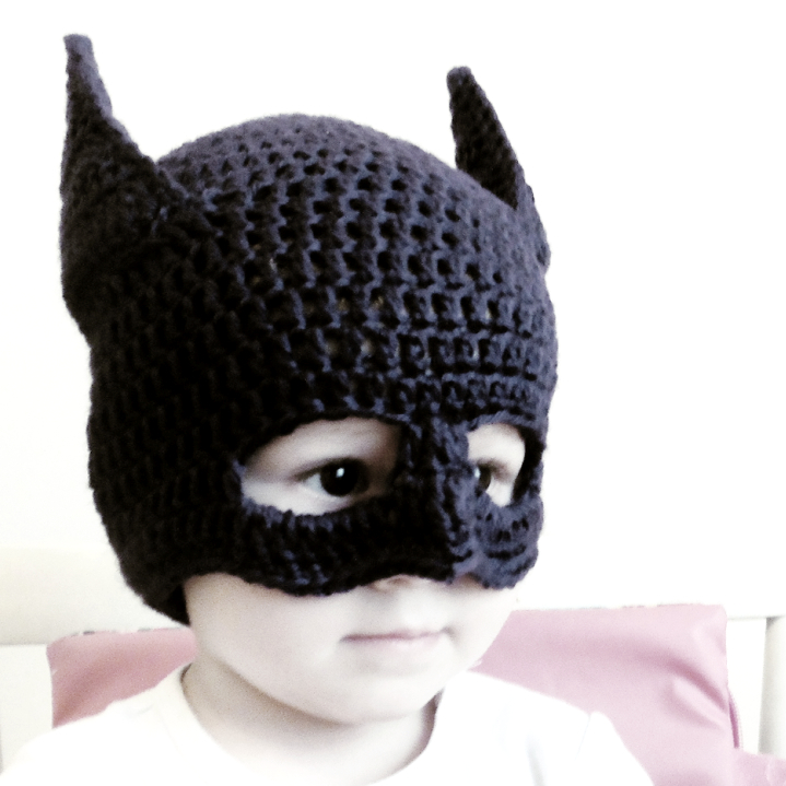 Batman Knitting Hat Pattern