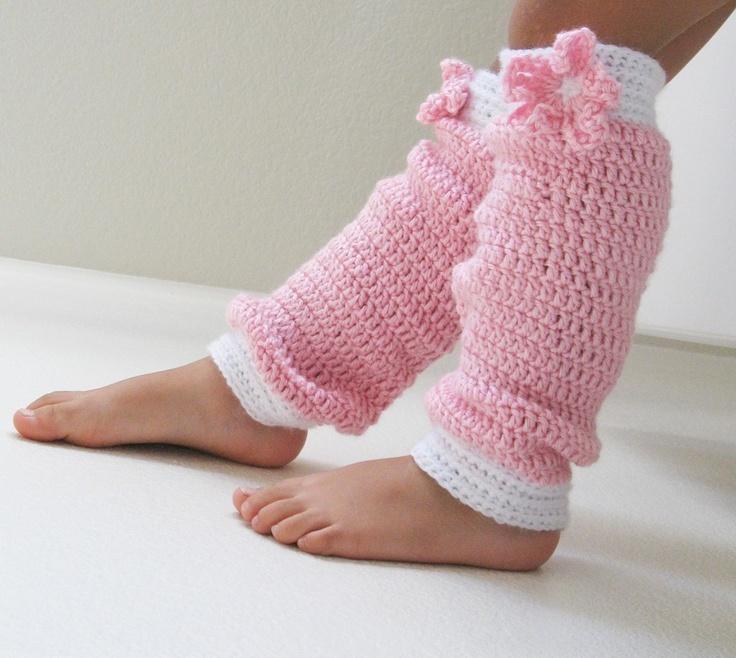 Butterfly Crochet Leg Warmers