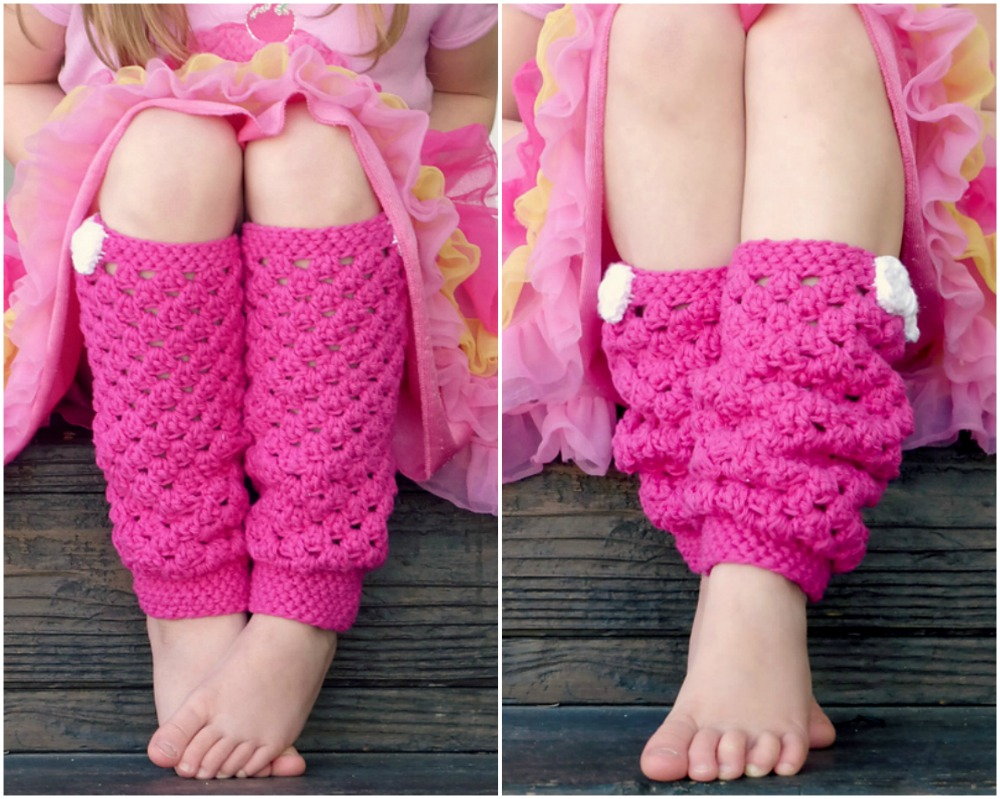 Crochet Baby Girl Leg Warmer Pattern