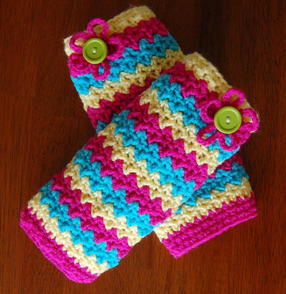 Crochet Child-sized Leg Warmers Pattern