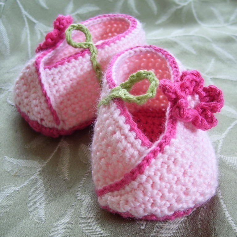 Flower toddler slippers