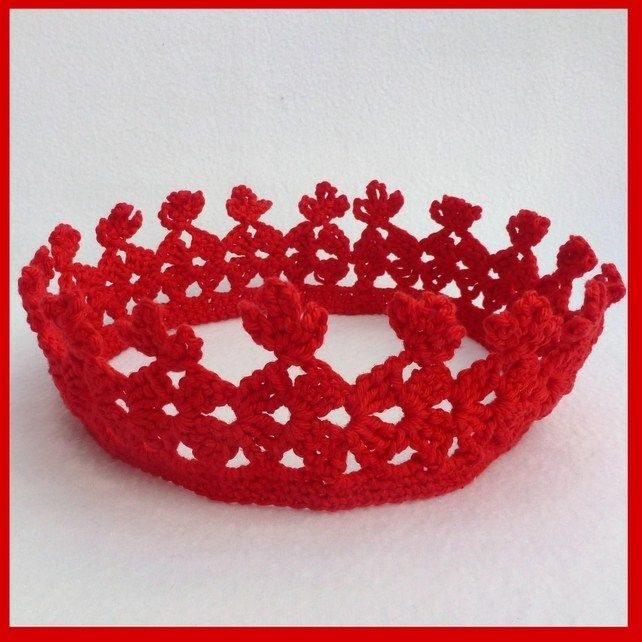 Crown Crochet Pattern