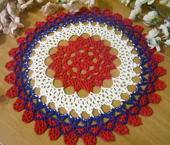 Round Crochet Doily Pattern