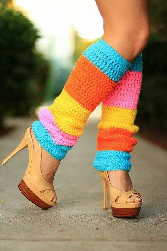 Crochet Leg Warmer Pattern for Adults