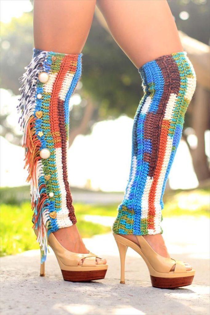Crochet Leg Warmer for Adults
