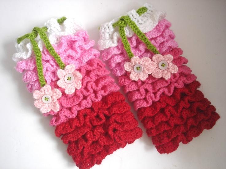 Crochet Leg Warmers for Kids
