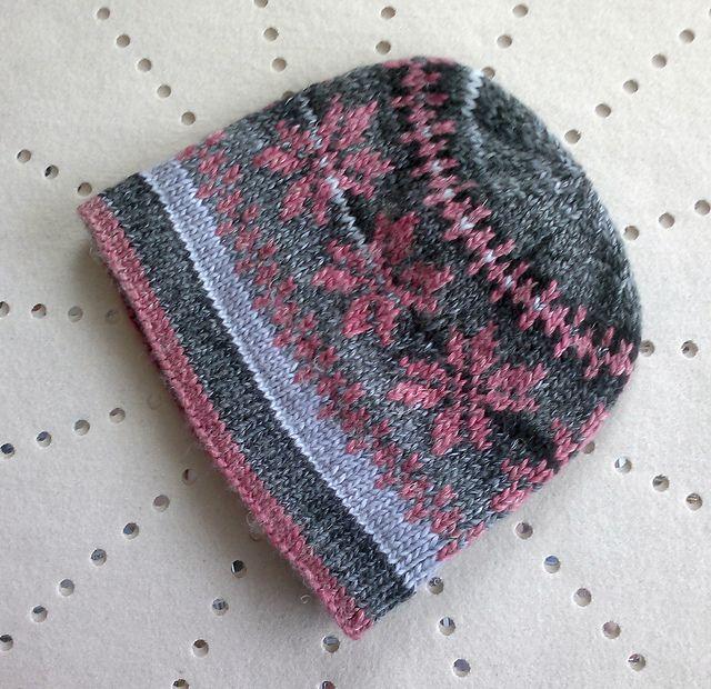 Double Knit Reversible Hat Pattern