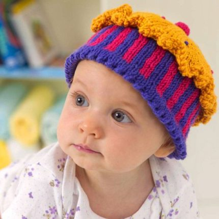 Knitted Cupcake Hats