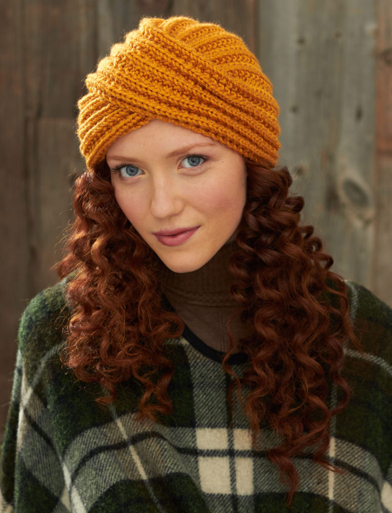 Knit Winter Turban Pattern