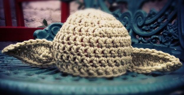 Knitting Yoda Hat Pattern