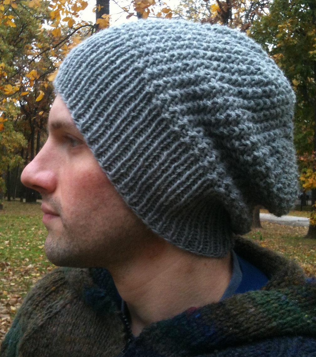 men's hat knit