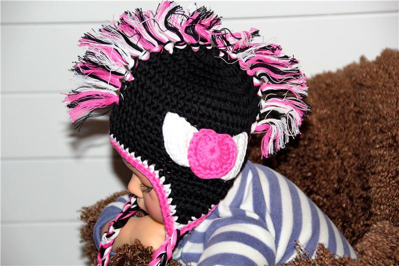 Mohawk Hat Knitting Pattern