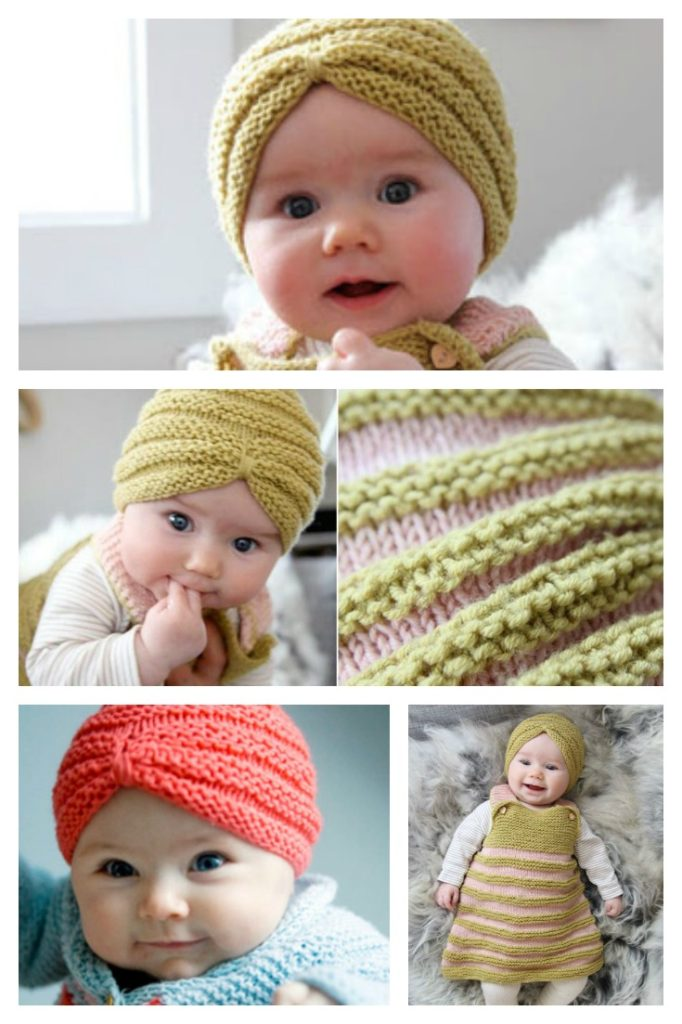 Turban Knitting Pattern Baby