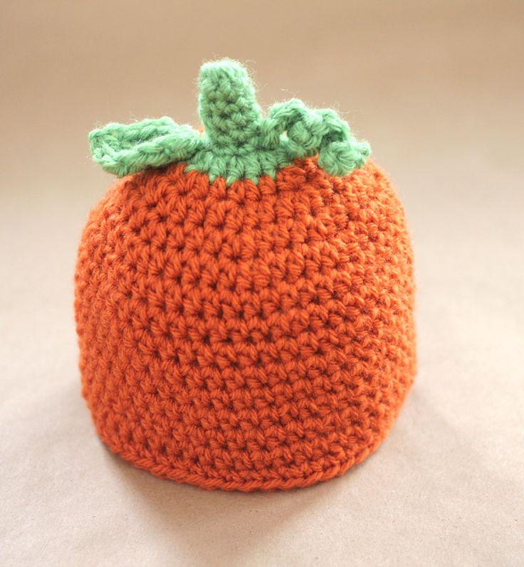 Pumpkin Knitted Hat Pattern