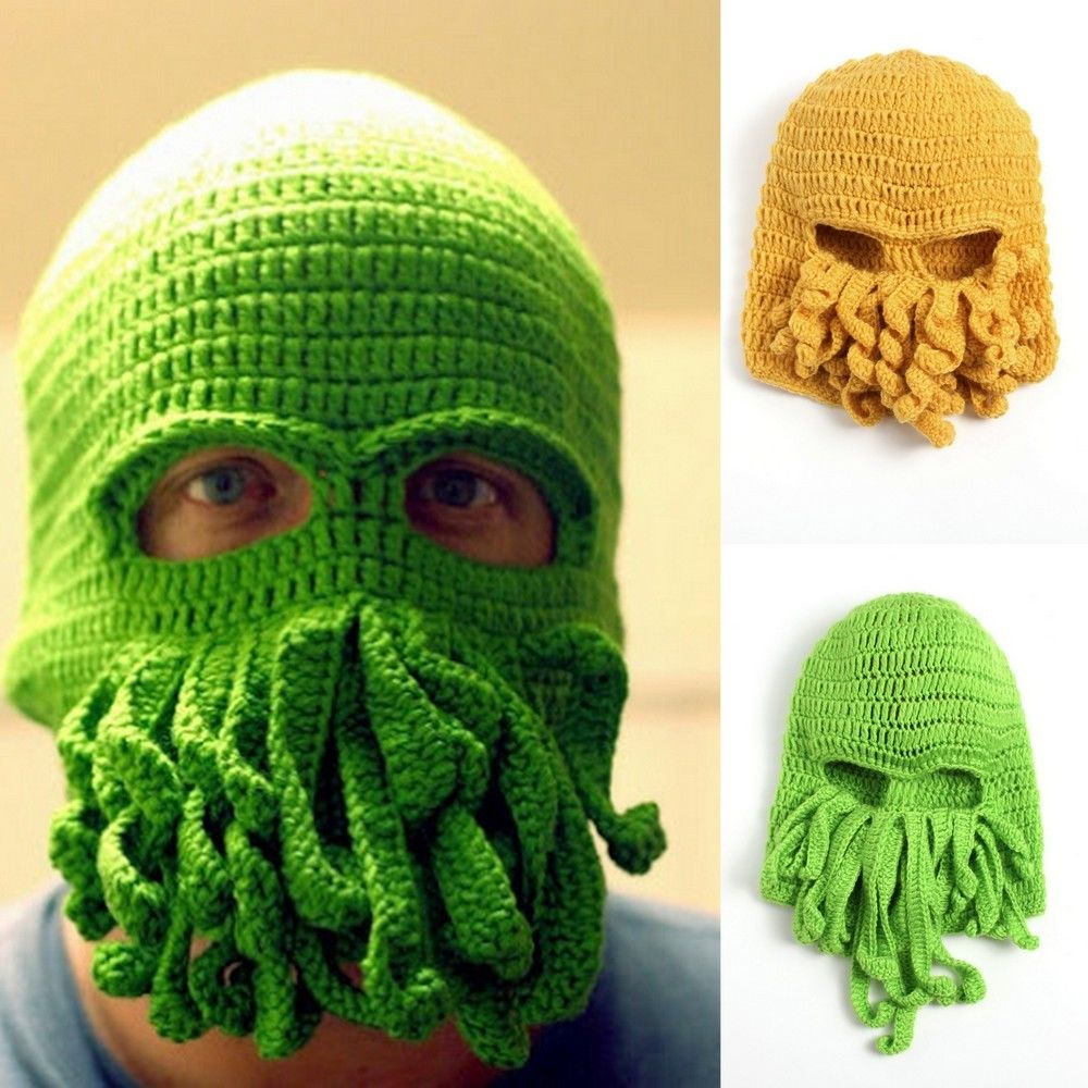 Spooky Balaclava Knitted Patterns