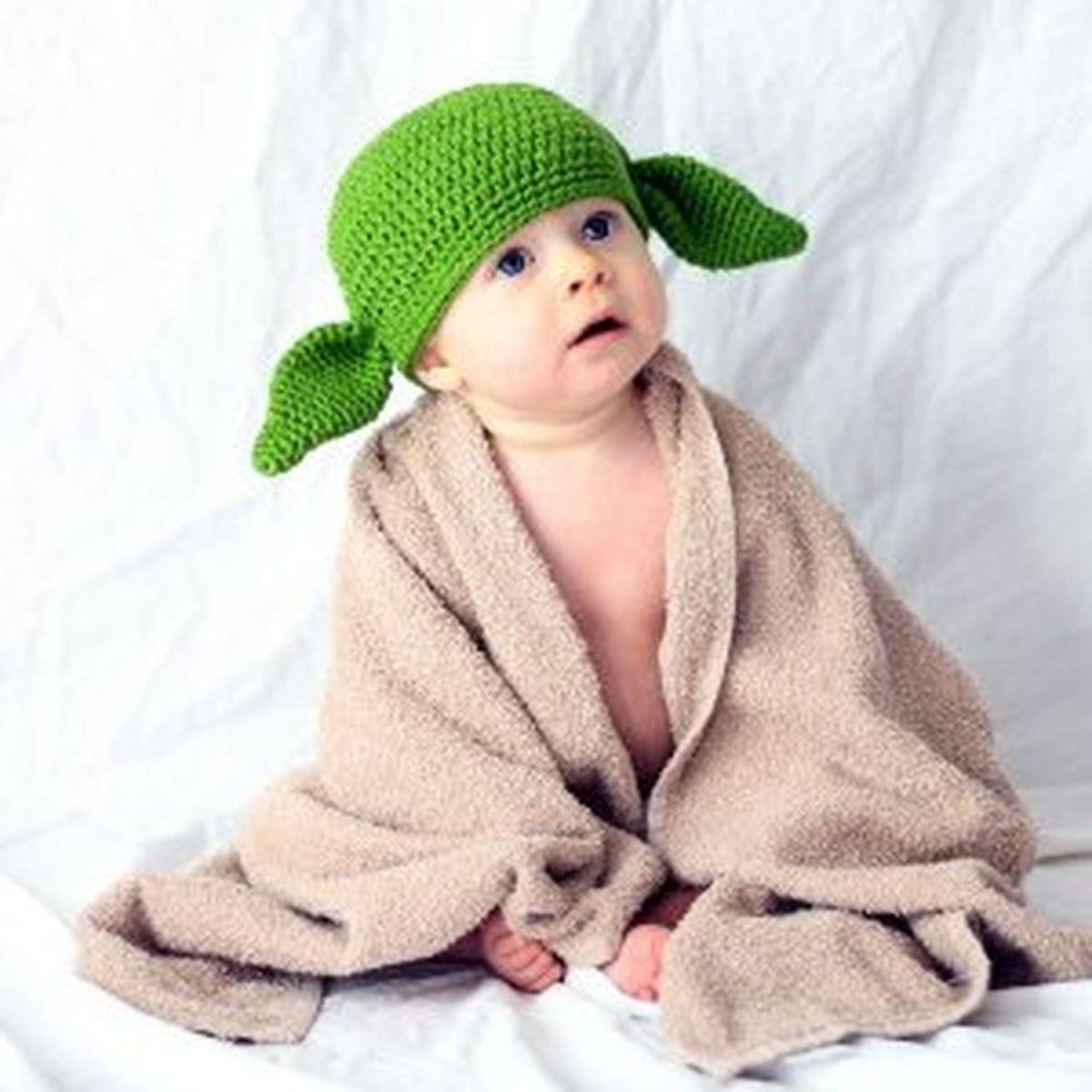 Yoda Hat Knit