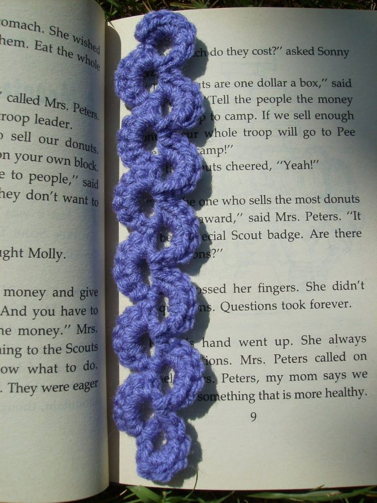 Easy Crochet Bookmark Pattern