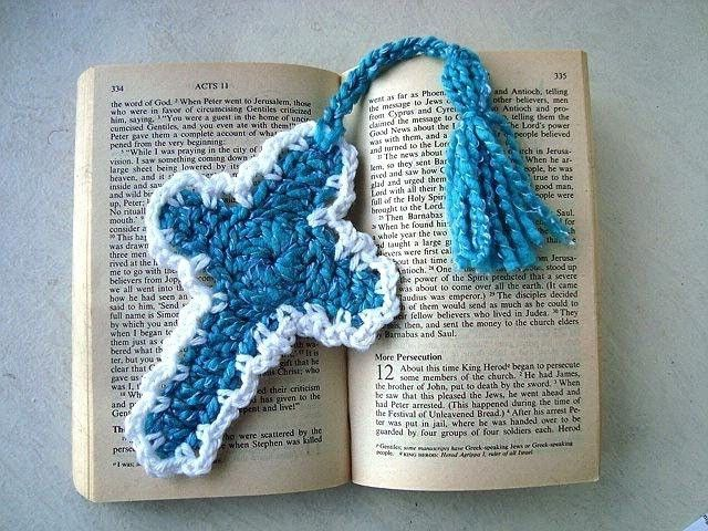 Crochet Holy Cross Bookmark Pattern