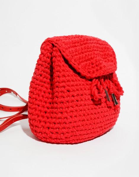 Mini Backpack Keychain Free Crochet Pattern | CROCHET | Croché ... | 600x470
