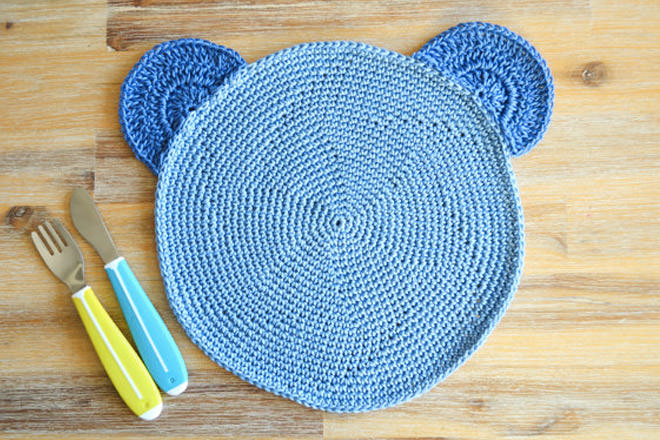 round crochet placemat pattern free
