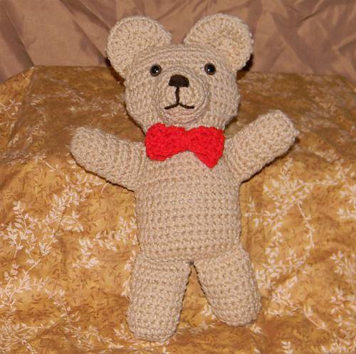 50 Free Crochet Teddy Bear Patterns ⋆ DIY Crafts | 497x500