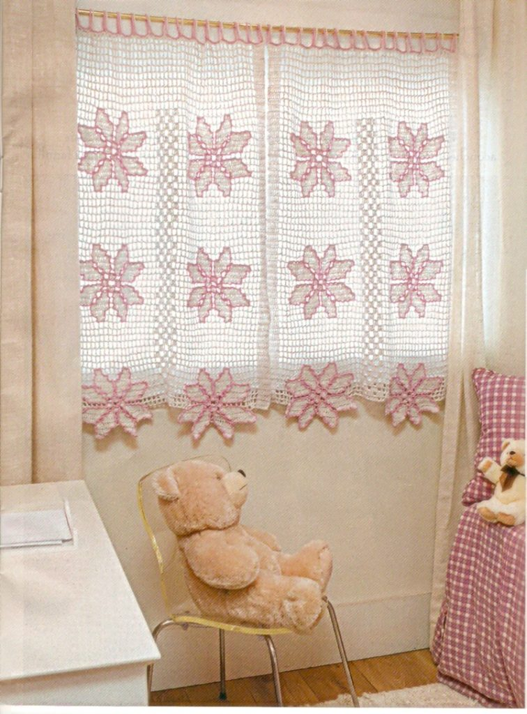 38 Crochet Curtain Patterns The Funky Stitch