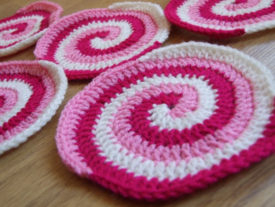 easy round crochet placemat patterns