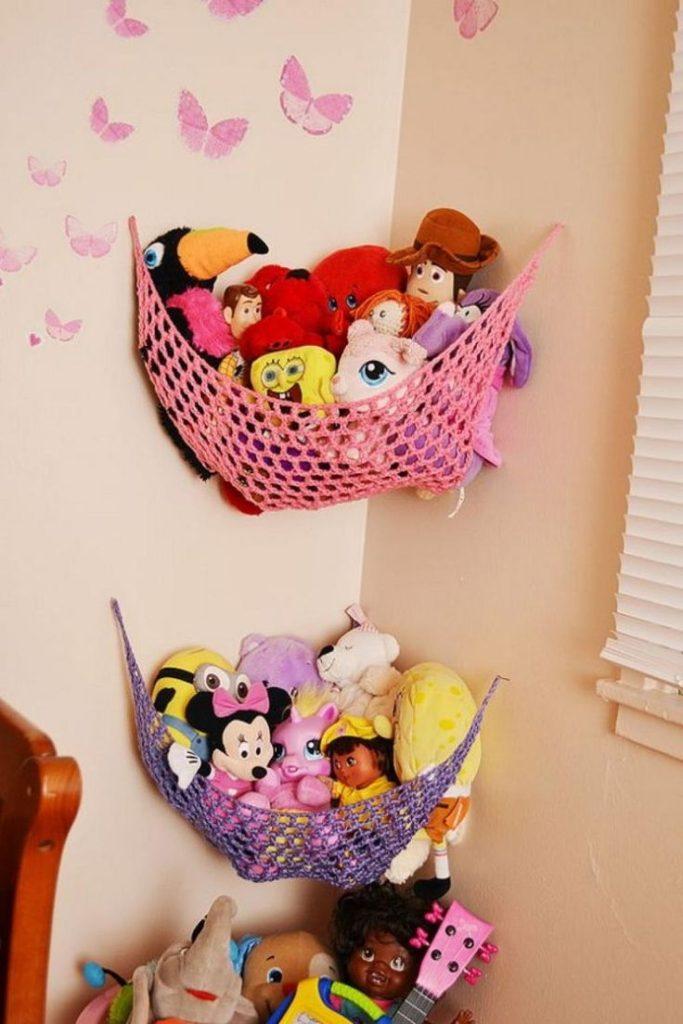 Crochet Storage Hammock