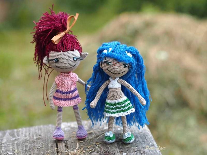 BFF dolls patterns crochet