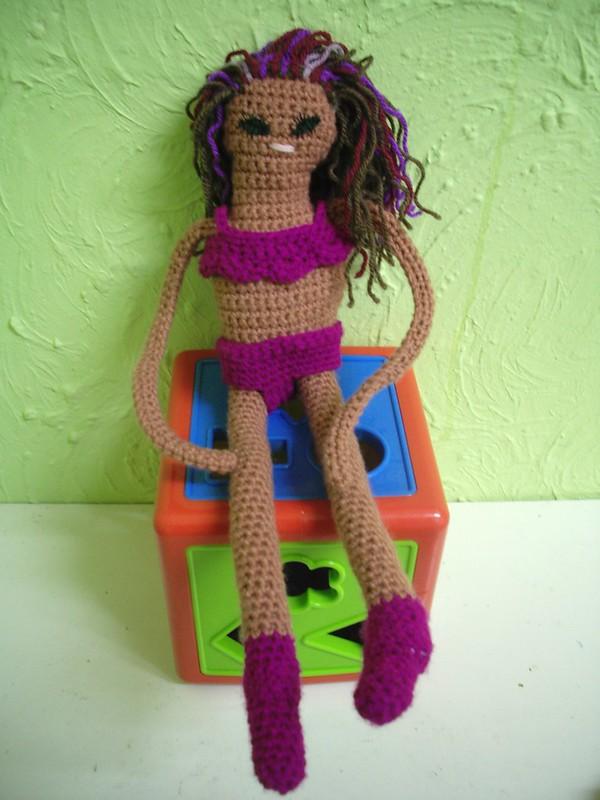 bikini crochet doll pattern