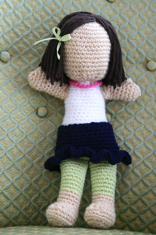 black and white crochet doll paterns