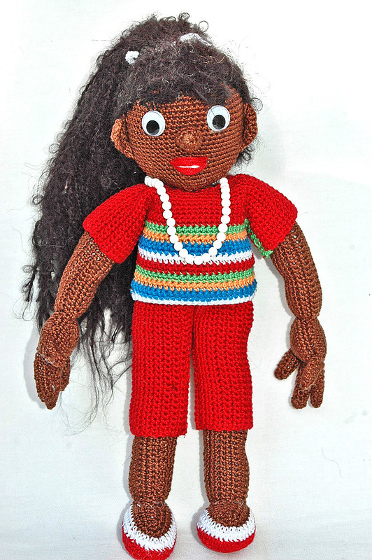 colorful crochet doll patterns