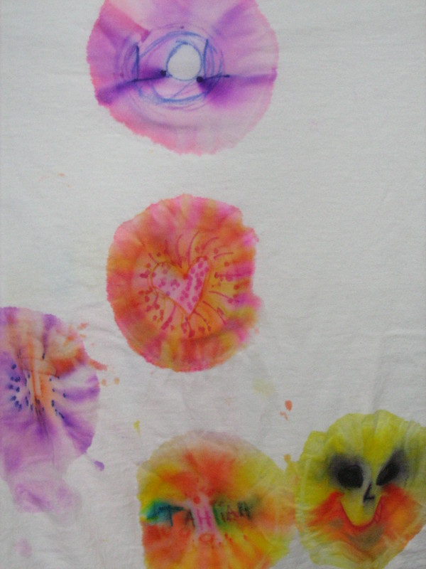 colorful tie dye shirt patterns
