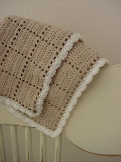 tan crochet washcloth pattern