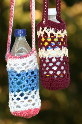 Crochet Water Bottle Holder
