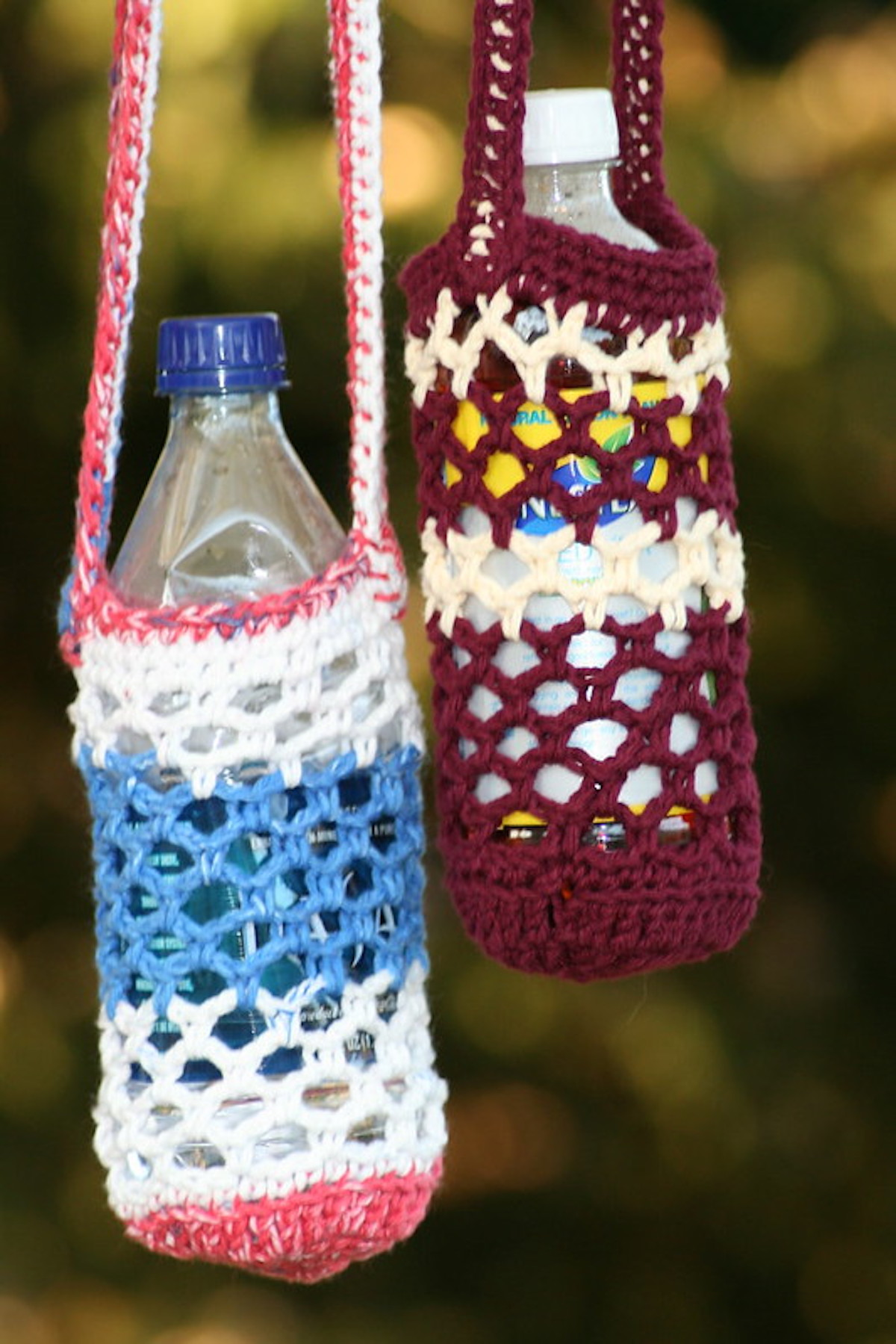Crochet Water Bottle Holder