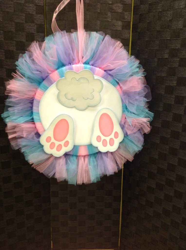 Easter Tulle Wreaths