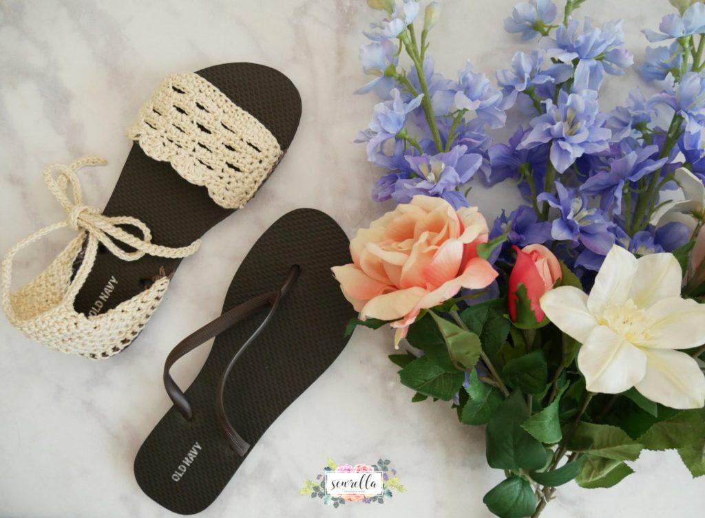 Crochet Flip flop sandal pattern