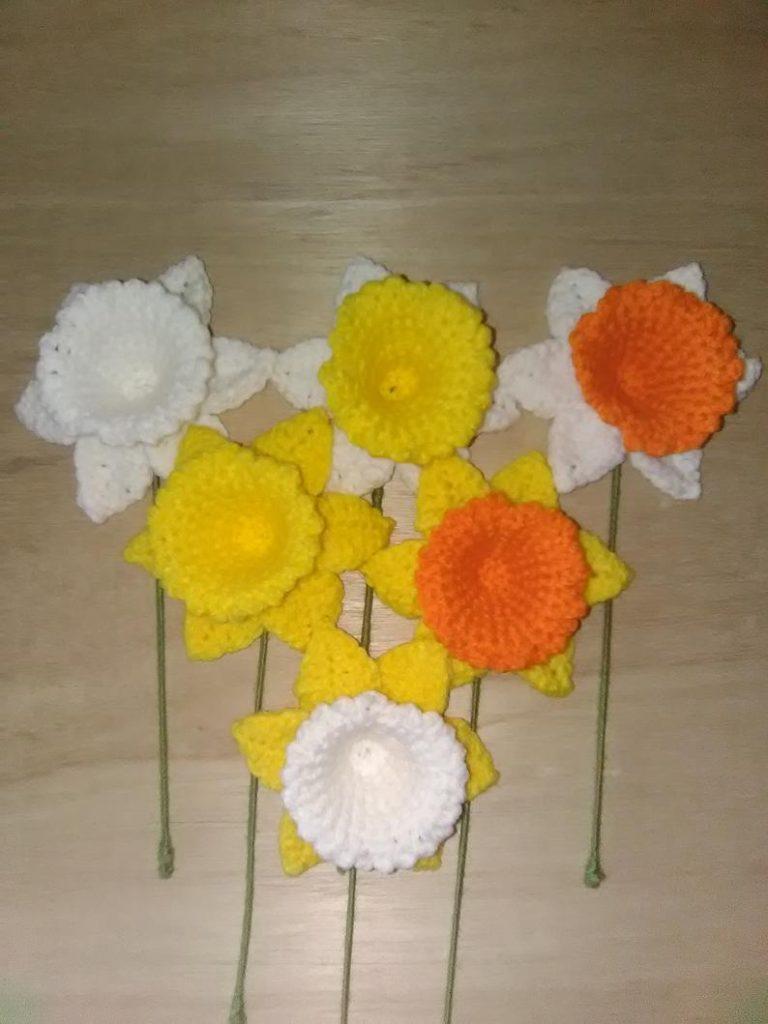 Crochet Daffodils