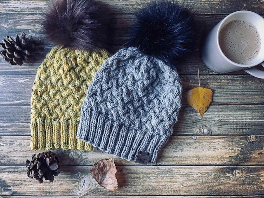 Knit Hat Pattern, Knitting Pattern Hat