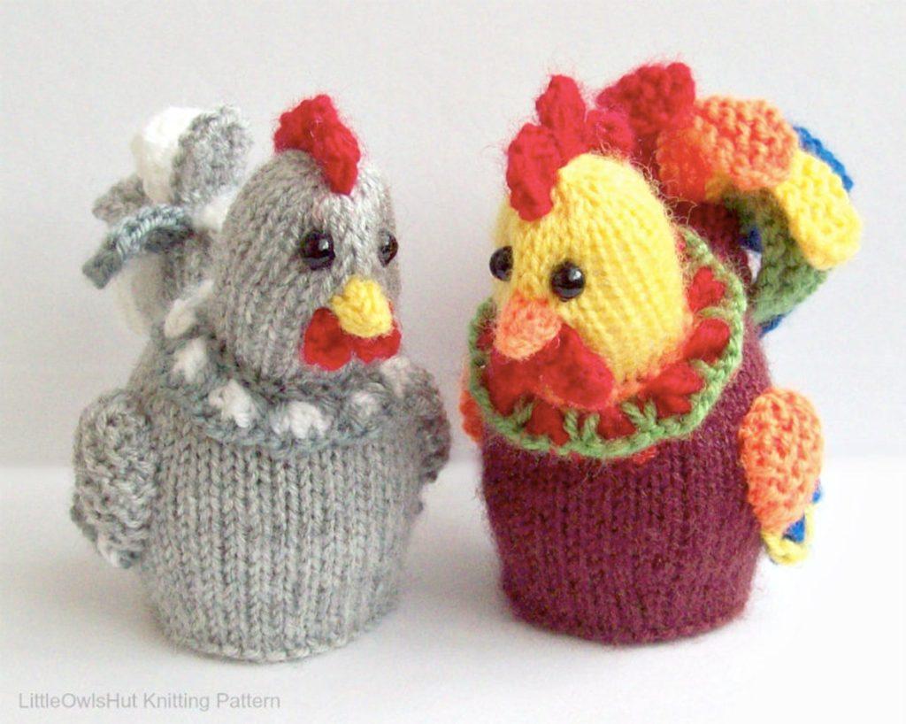 hen knitting patterns