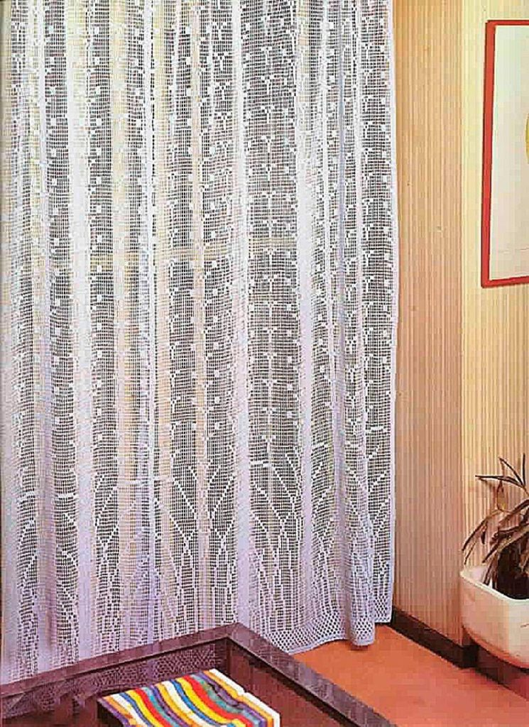 Crochet Pattern Filet Lacy Crochet Curtains for Any Room |Instant PDF Download Vintage Crochet Pattern # A488*