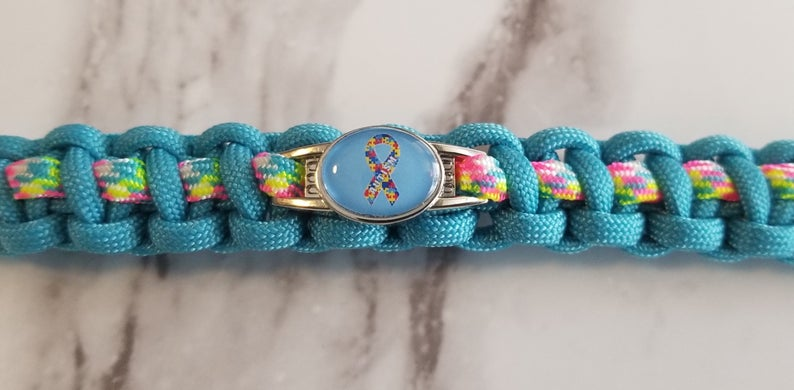 Autism, Awareness, Bracelet, Paracord