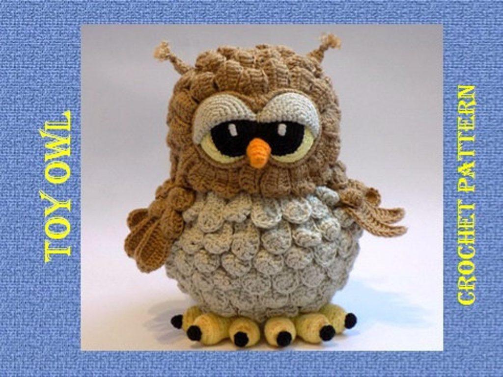 owl amigurumi pattern knit